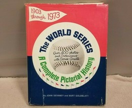 The World Series A Complelte Pictorial History Hardcover Book 1972 - $4.94