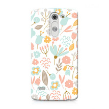 Cute Pastel Shabby Chic Floral LG G3 Stylus Hard Case Cover - $323,24 MXN