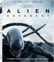 Alien: Covenant DVD + Digital HD with Ultravio Blu-ray Billy Crudup (Act... - $14.99