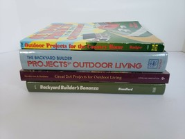 Set of 4 Outdoor Living, Do-it-Yourself, Woodworking, Backyard 2x4 Proje... - $17.99