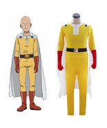 Anime One-Punch Man Saitama Cosplay Costume - $49.19