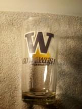 Washington HUSKIES--GO DAWGS-- Red Hook Pint Beer GLASS--NCAA-- -FREE SHIP--VGC - $20.88