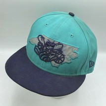 Charlotte Hornets New Era Hardwood Classics Fitted Hat Size 7 7/8 9FIFTY... - $24.99