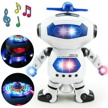 Robot Toy Space Dancing Humanoid Electronics With Lights Children Pet To... - $18.93