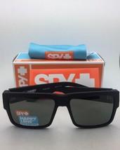 Polarisiert Spy Optic Sonnenbrille Cyrus Weich Matt Schwarz Rahmen W / Happy image 2