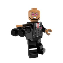 1 Pcs Super Hero Figure Dr. Hugo With Weapon Fit Lego Building Block Min... - $6.99