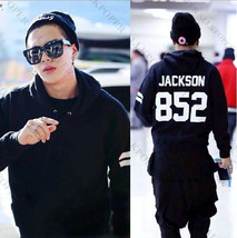 KPOP GOT7 Jackson 852 Cap Hoodie Sweater Pullover Fleece Coat Free Shipping - $23.24