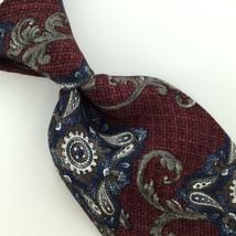 WEMBLEY US MADE ART NOUVEAU MAROON Silk Men Classic Necktie I2-88 Excell... - $15.83