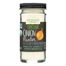 Frontier Herb Onion - Powder - Organic - White - 2.10 Oz - $12.06
