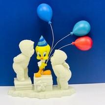 Snowbabies Tweety Bird figurine Department 56 Guest collection vtg warne... - $48.19