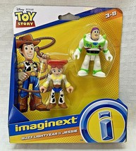 Fisher Price Imaginext Toy Story Buzz Lightyear and Jessie 2 Figure Set - $5.99
