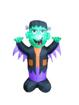 4 Foot Tall Halloween LED Inflatable Frankenstein Yard Party Outdoor Dec... - $39.00