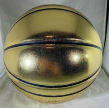 LARRY BIRD / NBA H.O.F. / AUTOGRAPHED MOLTEN GOLD FULL SIZE BASKETBALL / JSA COA image 3