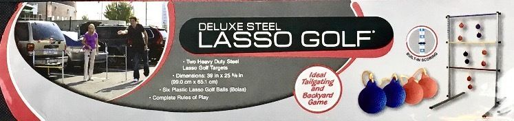 Halex Deluxe Steel Lasso Golf with Built-in Scoring