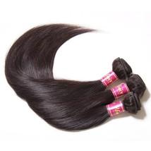 Human Hair Weaves - Natural Color, 12 12 12 - $142.80