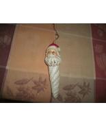 "20#30     Vintage Cute 6 1/2"" Santa Claus hanging Christmas Tree  ornament - $5.93"