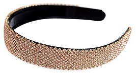 Diamond Antislip Dead Hoop Wide-Brimmed Crystal Comfortable Hair Band