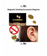 Magnetic Acupressure Earring Magnet Stop Smoke Weight Loss Magnet US SELLER - $5.95