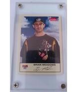 Encased Fleer Tradition 2005 Brian Meadows Pittsburgh Pirates Baseball C... - $5.89