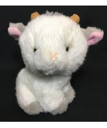 "Applause Goat White Gray Plush RARE Stuffed Animal 6"" Mini Toy 49591 RARE - $129.00"