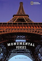 Monumental Verses [Hardcover] Lewis, J. Patrick image 1