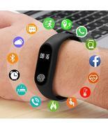 M2 Sport Bracelet Smart Heart Rate Watch Men Women Smartwatch For Androi... - $15.01