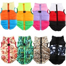 Warm Dog Clothes For Small Dog Windproof Winter Pet Dog Coat Jacket Padd... - $8.80