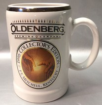 OLDENBERG BREWING COMPANY Ft. Mitchell, Kentucky 1996 Collector Beer Stein - $12.77