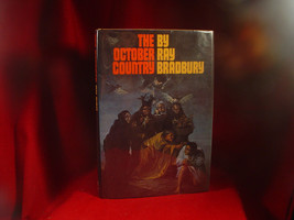 The October Country by Ray Bradbury with full page Halloween Drawing - $1,225.00