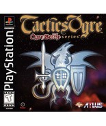 Tactics Ogre PS1 Great Condition Fast Shipping - $129.93