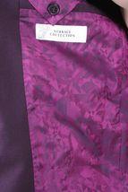Versace Collection Men's Purple Notch Lapel Sports Coat Blazer Jacket NWT image 6