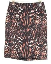Talbots Black Printed Skirt Size 4 - $14.00