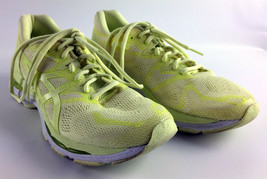 Asics Gel-Nimbus 20 Women's Running Shoes - Yellow - T850N - Size 10.5 - $49.49