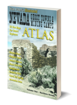 Nevada Ghost Towns and Mining Camps Atlas - Volume 1 Northern Nevada - $16.95