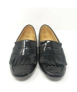 G H Bass & Co Women's 11M Black Patent Leather Vivica Penny Loafer Mocca... - $69.73