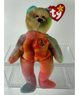 """RARE ty """"Peace"""" Beanie Baby with SEVEN Major Errors - MINT! - $17,945.00"""