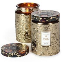 VOLUSPA CRANE FLOWER JAR CANDLE - 16oz/452gm - $49.95