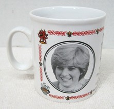 "Marriage Prince Charles Lady Di Wedding Kiln Craft Coffee Mug Cup 3 1/2""... - $29.69"