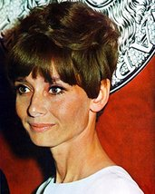 Audrey Hepburn 16x20 Canvas Giclee Candid 1967 Off-Screen Pose - $69.99