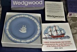 Wedgwood - Mayflower Sweet Dish in Blue & White Jasper image 3