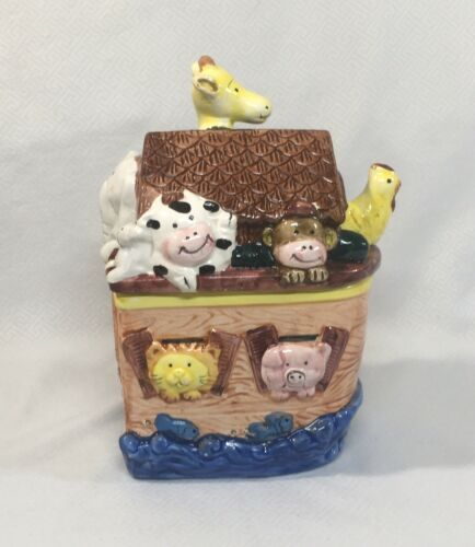 Primary image for Noah's Ark Cookie Jar Candy Jar SS ARK Express Productions ALWT002