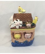 Noah's Ark Cookie Jar Candy Jar SS ARK Express Productions ALWT002 - $25.04
