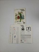 Kwik Sew UNCUT 1196 Pattern GIRLS' ELASTIC SKIRTS 4 Styles  Sizes 4,5,6,7  - $5.27
