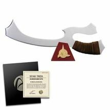 Roddenberry Star Trek Klingon Mek'leth 1:1 Scale Prop Replica - Worf Wea... - $299.95