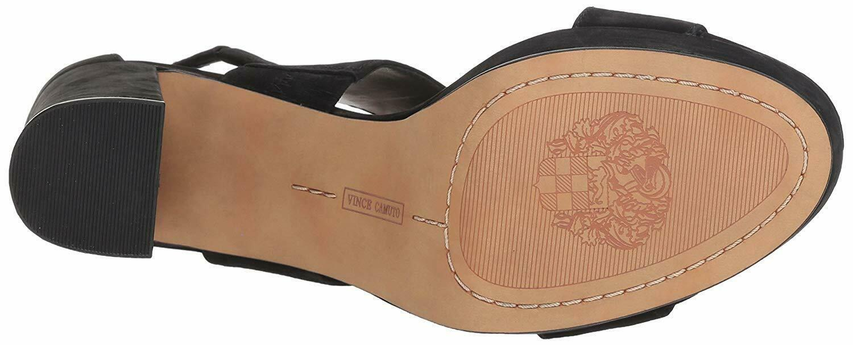 Vince Camuto Jayvid Platform Block Heel Sandals, Multiple Sizes Black VC-JAYVID image 5