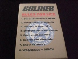 Soldier 1998 Movie Pin Back Button - $6.00