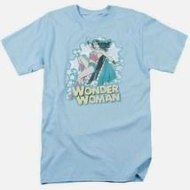 Wonder Woman T-shirt distressed DC comic book Batman superhero cotton tee DCO468 image 2