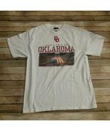 Majestic Section101 Men Tshirt Oklahoma University Sooners Size XL - $10.29