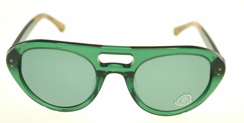 MONCLER MC529-S03 Green & Brown / Green Sunglasses MC 529S-03 image 2