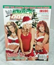 WWE Smackdown Holiday 2005 Magazine Divas Naughty and Nice Kiebler NO Po... - $8.59